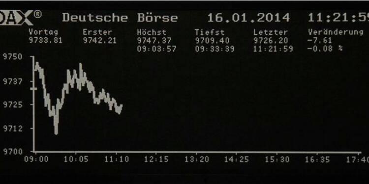 Les Bourses européennes évoluent en légère baisse, sauf Londres