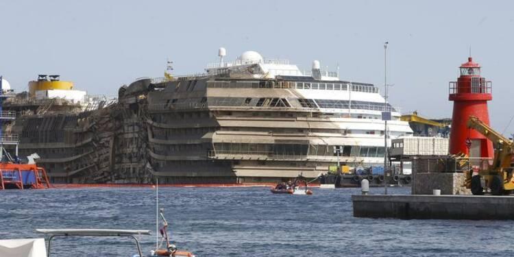 Deux corps retrouvés près de l'épave du Costa Concordia