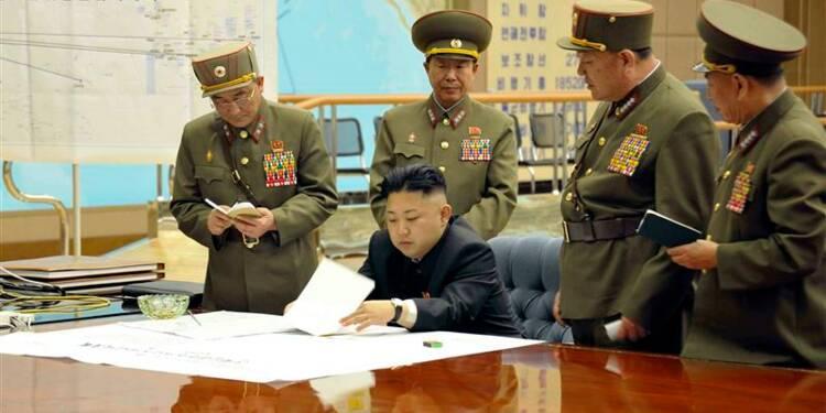 L'armée nord-coréenne en état d'alerte