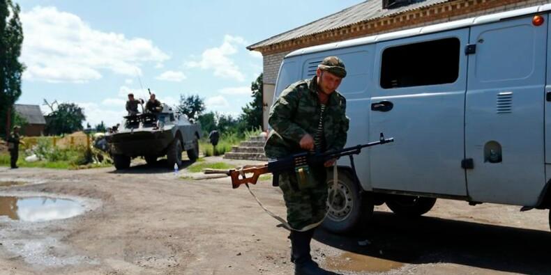 Importante bataille en cours dans l'est de l'Ukraine