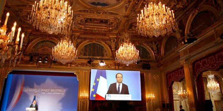 Hollande et Montebourg présentent un plan d'action pour l'industrie