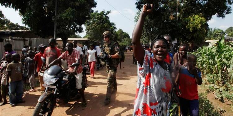L'armée française dit avoir ramené le calme à Bangui