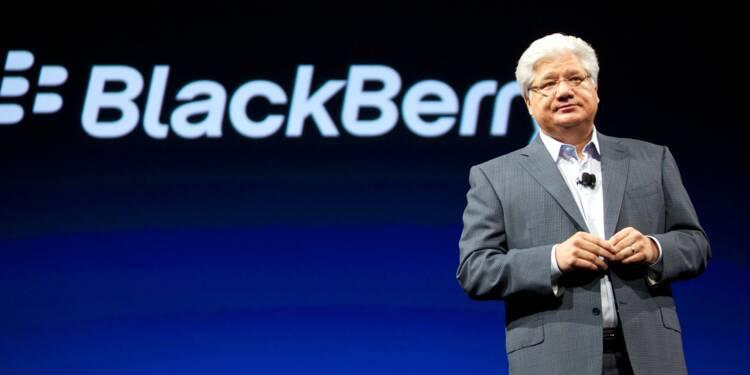 Le fabricant du BlackBerry verse des millions à ses anciens dirigeants