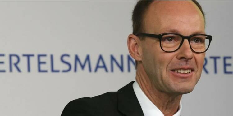 Bertelsmann vise 20 milliards d'euros de chiffre d'affaires d'ici 3-4 ans