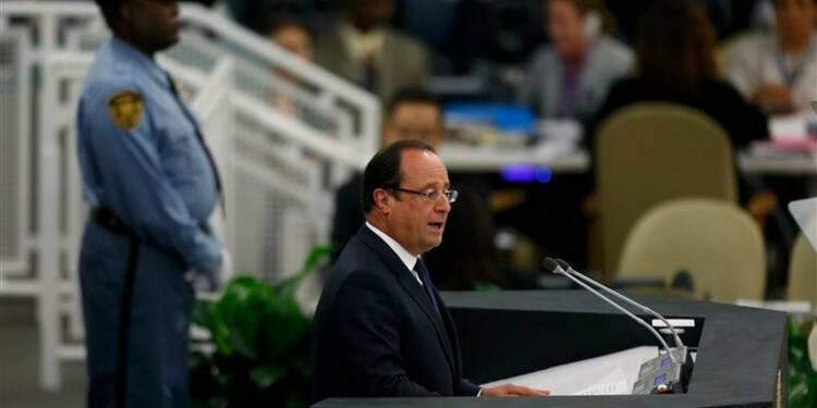 Hollande veut des mesures coercitives dans le texte sur la Syrie