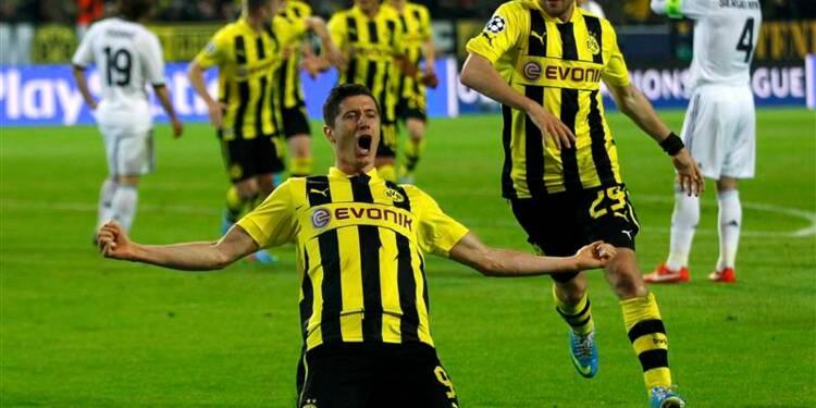 Ligue des champions: Dortmund humilie le Real Madrid 4-1