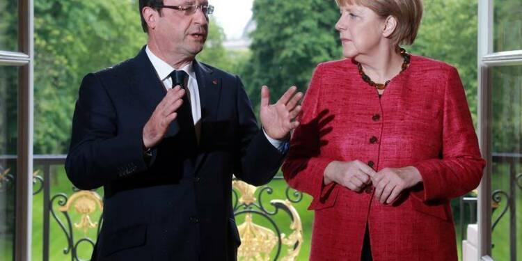 François Hollande résigné à une probable reconduction de Merkel