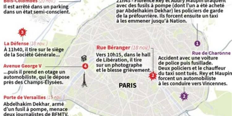 Le tireur de Paris en garde à vue pour tentative d'assassinats