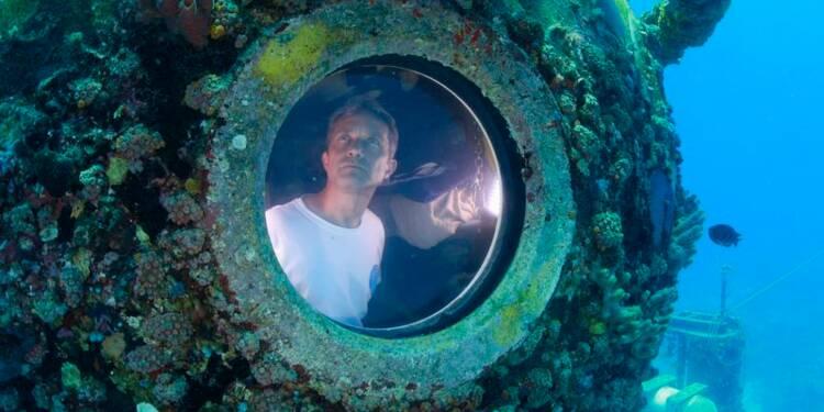Un petit-fils du commandant Cousteau sort de 31 jours sous l'eau