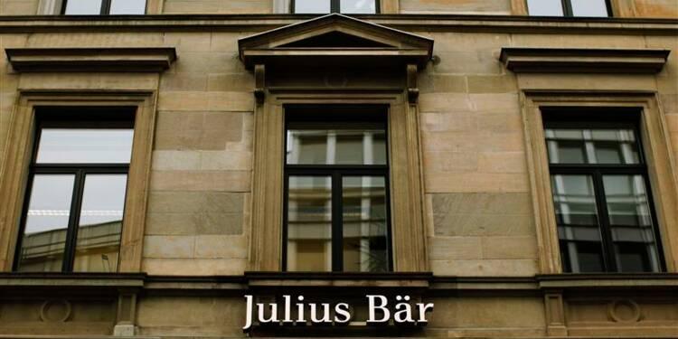 Julius Baer affiche une marge en recul au 4e trimestre