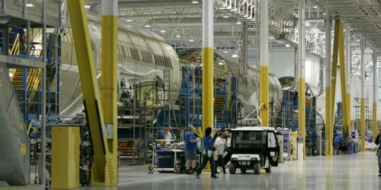 Boeing accélère le rythme de production du Dreamliner