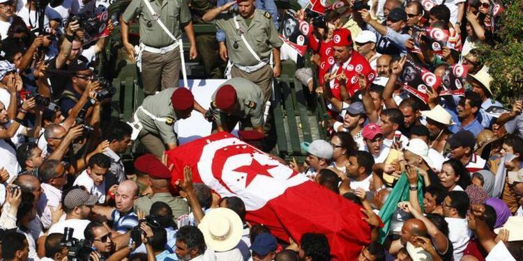 Manifestations en Tunisie après la mort de Mohamed Brahmi