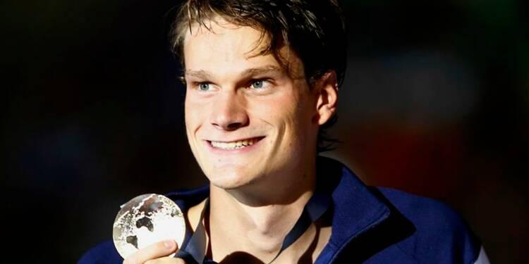 Natation: Yannick Agnel champion du monde du 200m nage libre