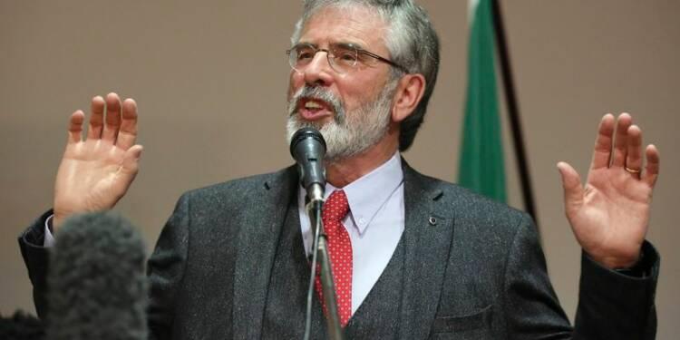 Menaces de mort contre Gerry Adams après sa libération