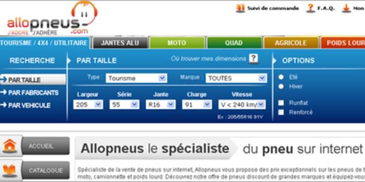 Allopneus.com, un discounter très gonflé