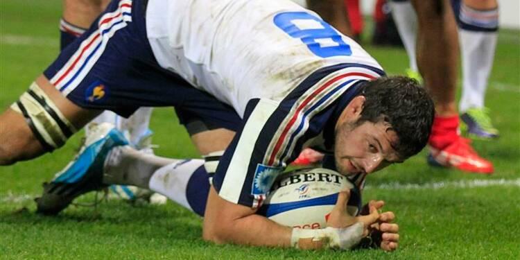 Rugby: le XV de France bat les Tonga 38-18