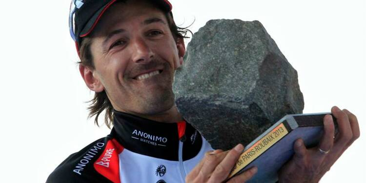 Paris-Roubaix: le Suisse Fabian Cancellara s'impose
