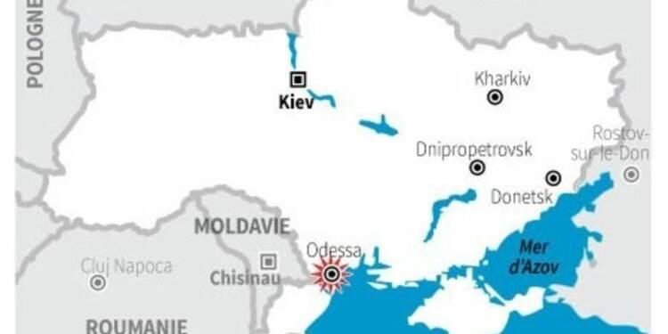 Les violences d'Odessa organisées à l'étranger, selon Kiev