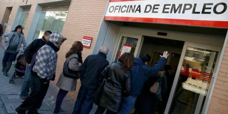 Le nombre de chômeurs diminue de 0,04% en février en Espagne