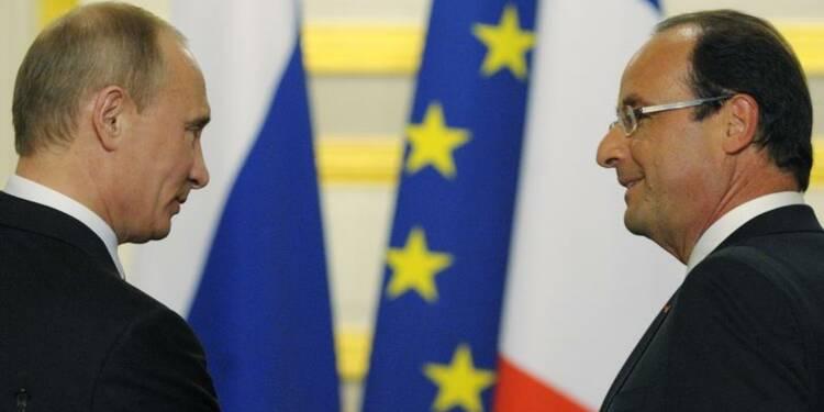 Hollande à Moscou pour dégeler les relations franco-russes