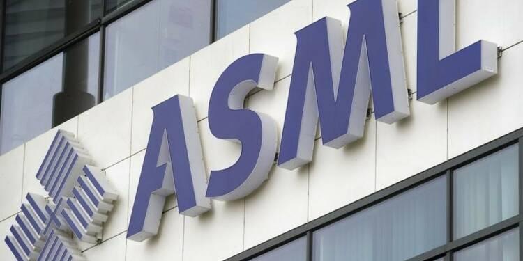ASML révise sa prévision de chiffre d'affaires semestriel