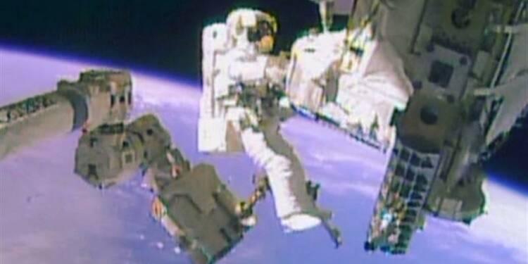 Les réparateurs de l'ISS réussissent leur deuxième sortie