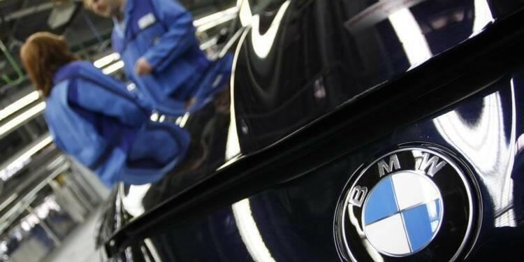 BMW rappelle plus de 156.000 voitures aux Etats-Unis