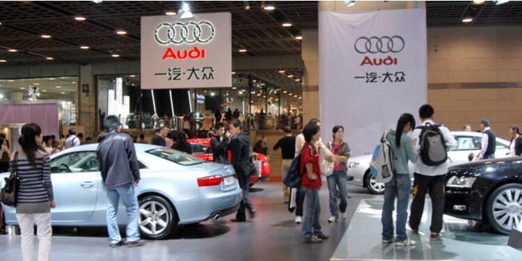 Le grand bond en  avant d'Audi  en Chine