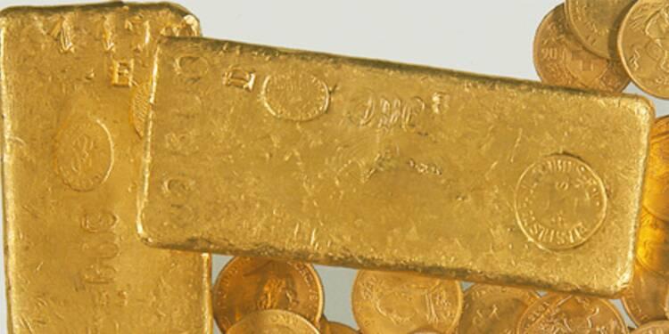 L'once d'or a battu un nouveau record en euros