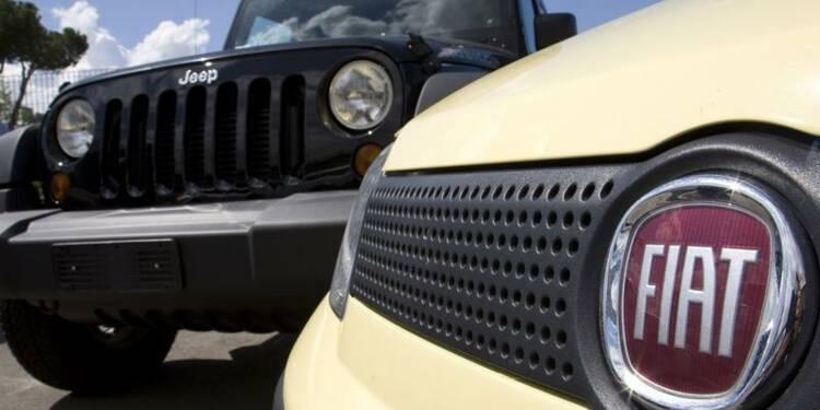 Fiat a bouclé le rachat du solde de Chrysler