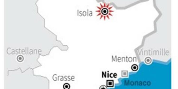 Deux enfants tués par un éboulement dans un chalet d'Isola