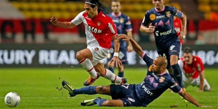 Ligue 1: Falcao marque encore mais Monaco piétine