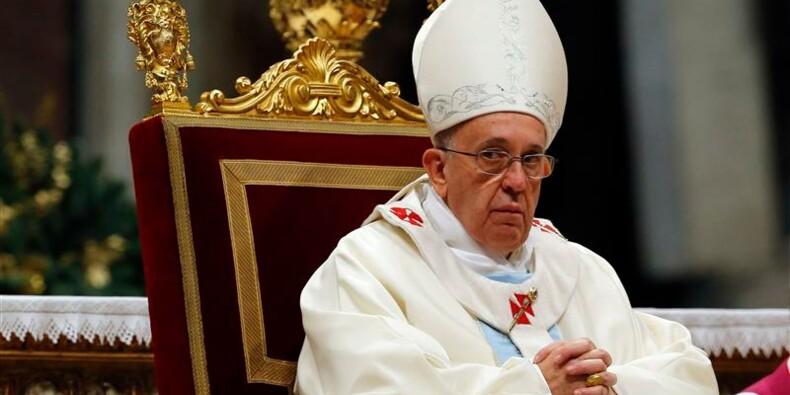 Le pape lance un appel à la paix pour le Nouvel An