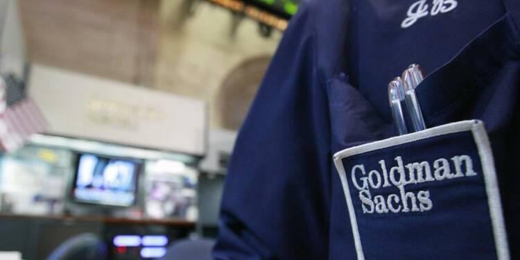 Hausse de 5,5% du bénéfice trimestriel de Goldman Sachs