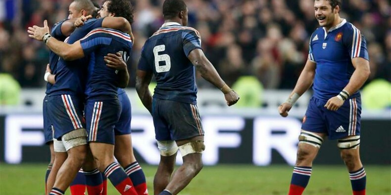 """Six Nations: la France remporte le """"crunch"""" face à l'Angleterre"""