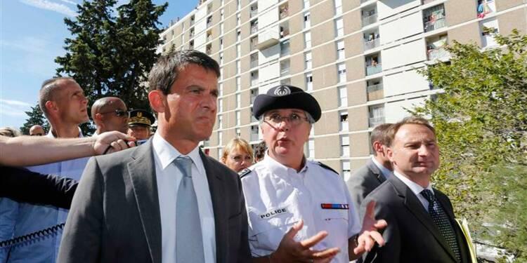 Manuel Valls vante des succès face à la délinquance à Marseille