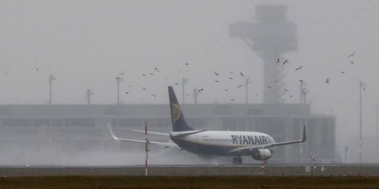 Ryanair réduit ses prévisions de bénéfice