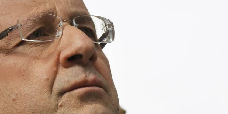 François Hollande poursuit sa chute dans les sondages, selon BVA