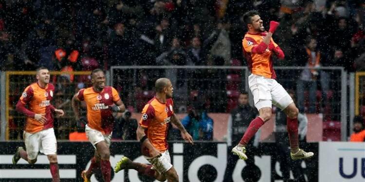 Ligue des champions: Galatasaray passe entre les flocons