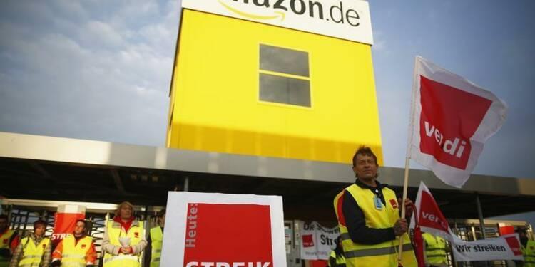 Nouvelle journée de grève pour les salariés allemands d'Amazon