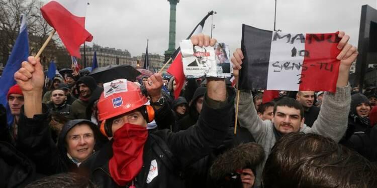 Huit personnes déférées après la manifestation anti-Hollande