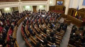 Les manifestants contrôlent la présidence ukrainienne