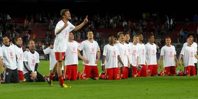 Ligue des champions: le Bayern en finale en éliminant le Barça