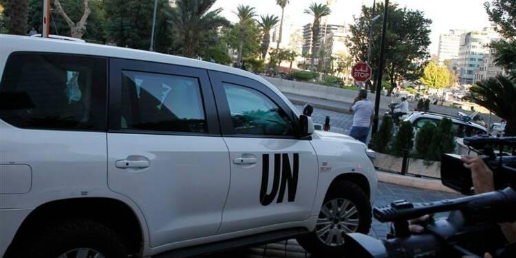 Les experts en armes chimiques sont arrivés en Syrie