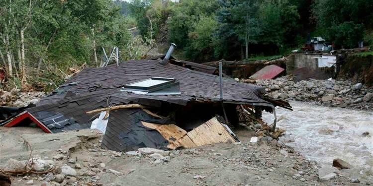 Le bilan des inondations dans le Colorado risque de s'alourdir