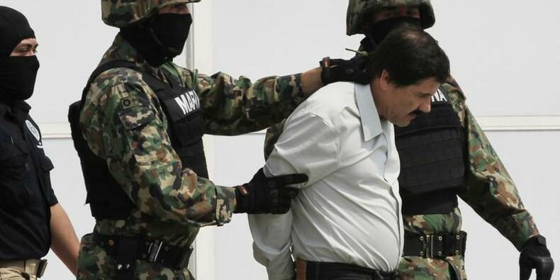 """Arrestation du baron de la drogue """"Shorty"""" Guzman au Mexique"""