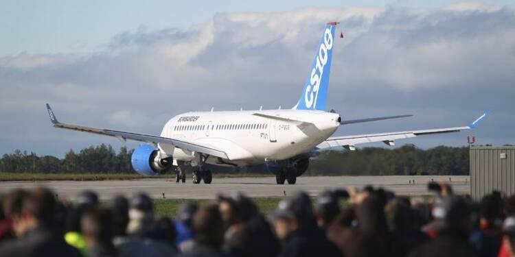 Vol inaugural du CSeries de Bombardier