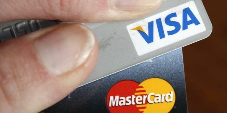 Visa et Mastercard devront indemniser des commerçants américains