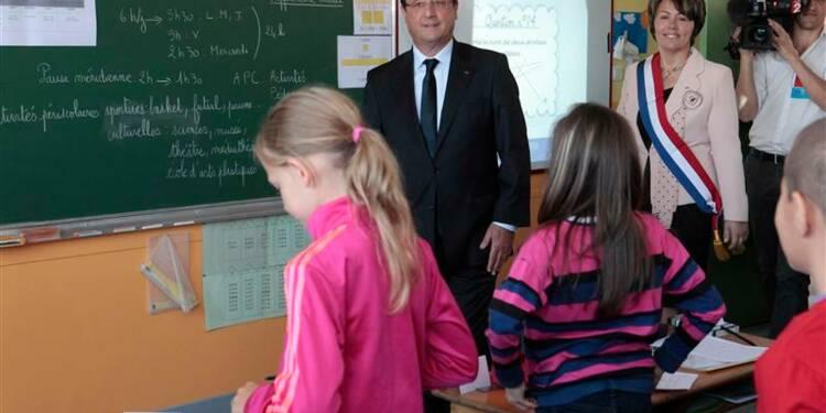 François Hollande défend sa réforme des rythmes scolaires