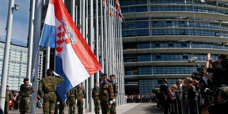Le Parlement européen accueille la Croatie à Strasbourg